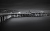 Swanage Pier (Rich Walker75) Tags: swanage dorset pier longexposure longexposures longexposurephotography landscape landscapes landscapephotography landmark landmarks sea seascape seascapes blackwhite blackandwhite mono monochrome england canon eos100d efs1585mmisusm eos