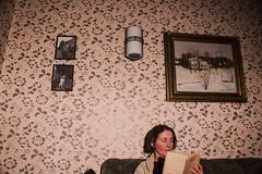 The author (Eino Rissanen) Tags: author book books empire painting art artistic writer reading arts artsy reportage portrait woman canon lightroom adobelightroom