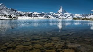 Matterhorn and Stellisee