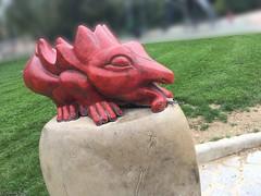 crapeau-rouge1®© (alexandrarougeron) Tags: art urbain environnement style ambiance mosaïque peinture tag décoration paris couleur color street rue dessin