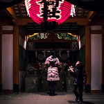 At the temple - Tokyo, Japan - Color street photography thumbnail