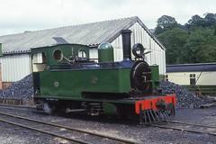 Number 85 at Llanfair (lewispix) Tags: hunslet 262t wllr steam railway narrow gauge