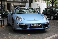 Poland (Kolo) - Porsche 991 Carrera 4S Cabriolet (PrincepsLS) Tags: poland polish license plate pkl kolo germany berlin spotting porsche 991 carrera 4s cabriolet