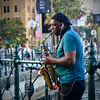 Saxman of Sydney (Mondmann) Tags: musician busker streetmusician saxman saxophoneplayer sax saxplayer sydney australia nsw newsouthwales circularquay sydneyharbour streetphotography mondmann canonpowershotg7x