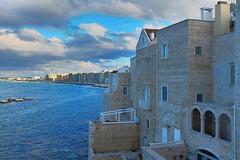 Molfetta, Puglia, 2017 (biotar58) Tags: molfetta puglia italia apulien italien apulia italy southitaly southernitaly russar20mm56 russar clouds nuvole mare sea