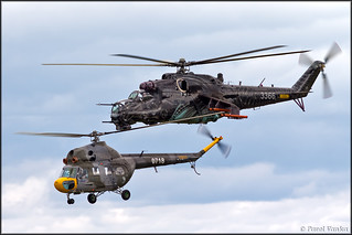 Mil Mi-2 + Mi-24V