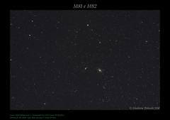 M81 e M82 (AstroBetta) Tags: 70200f4l astronomikeosclip bianchino bode canon clsccd fullspectrum1100d m81 m82 nebulas nights nocrop orsamaggiore sigaro skywatcher staradventurer stars