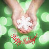 Happy Holidays! (Explored) (lclower19) Tags: happyholidays week51 52in2017 snowflake hands bokeh green red text texture lc ornament salt explored