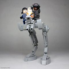 AT-BB8 (Takamichi Irie) Tags: lego star wars bb8 droid last jedi first order finn rose rey sith walker atat atst