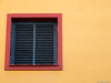 Window (✦ Erdinc Ulas Photography ✦) Tags: yellow red spain sevilla door panasonic lumix simple blue house colour traditional culture españa focus square paint