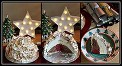 2017 Sydney: Gelato Bombe Alaska triptych (dominotic) Tags: 2017 christmas bombealaska meringue gelato dessert food gelatobombealaska cowandthemoonenmore triptych sydney australia