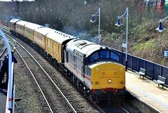 COLAS Rail 37254 - Mansfield Woodhouse (the mother '66' 66001) Tags: colasrail class 37 37254 mansfield mansfieldwoodhouse robinhoodline intercity networkrail railways nottinghamshire derby derbyrtc