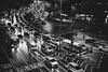 Traffic in Seoul (mripp) Tags: art vintage retro old black white mono monochrome cars mobility stau congestion leica m1s0 summicron 50mm seoul korea asia night nacht city urban stadt