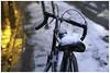 Bikes of Toronto - Fire & Ice (KaushikBiswas28) Tags: bikesoftoronto iluvtoronto bikes stilllife fatalframes framedtoronto imagesoftoronto street streetphotography canoncanada sigma urban streetvision bokeh cycle 6ix tdot ice snowstorm kingst downtown