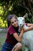 DSC_6267 (klakeduker) Tags: portrait face beauty youth hair eyes evening sun world village leave goat animal milk friendship hugs love joy