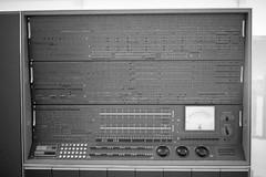 IBM 7030 aka Stretch (busy.pochi) Tags: 135 24x36 35mm 400iso bw kentmere400 nb nationphotolab ultron voigtländer voigtländerbessar voigtländerultron35mmf17 analog argentique film pellicule muséedesartsetmétiers cnam computer museum ibm ltm m39 monochrome