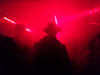 Day 335 - Red alert (cframezelle) Tags: shadow book2017 light night nightclub people red smartphone oneplus paris concrete hat man city nocturnal colour color urban dark