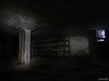 Basement storage (kentkirjonen) Tags: abandoned övergivet övergiven lumix fz300 rust rost old gammal sweden sverige dalarna ue paper mill storage förvaring källare basement pillar pelare shelf hylla