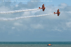 3397 Wingwalkers (photozone72) Tags: eastbourne airshows aircraft airshow aviation canon canon7dmk2 canon100400f4556lii 7dmk2 wingwalkers breitlingwingwalkers breitling stearman biplane
