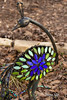 117/79 - Garden Ornament (xTexAnne) Tags: ©diannewhite nikond7200 waco texas garden peacock mosaic 117picturesin2017