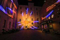 Luci d'artista - Torino , Piazzeta  C. Mollino (Marco Ottaviani on/off) Tags: torino lucidartista lucidinatale 2017 marcoottaviani