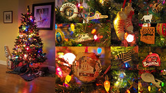 Christmas 2017 (PDX Bailey) Tags: christmas tree christmastree collage cat