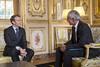 2017-10-12: Paris, Elysée, LOUIS Philippe CFTC (Elysée - Présidence de la République) Tags: philippe cftc syndicat entretien