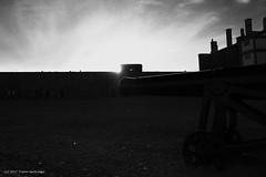 Citadel sunset (Trevdog67) Tags: halifax citadel cannon fortress fort sunset bw nikon d7500 nikkor 18300mm sky clouds dramatic historic history british
