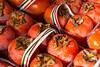 Persimmons (Diopspyros kaki) (Victoria Lea B) Tags: persimmon sicily italy market mercatodellavucciria palermo fruit diospyroskaki