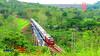 Train Cross the Lahor Bridge (anggocc201) Tags: keretaapi train railway lokomotif locomotive indonesia ptinka ptkai malang jawatimur eastjava cc300