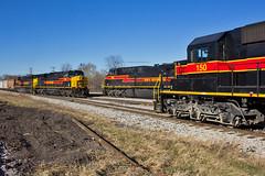 Iowa 3-Way (Trainboy03) Tags: iowa interstate iais 500 504 150 silvis illinois il