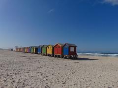 Muizenberg (rjmiller1807) Tags: huts beachhuts muizenberg capetown westerncape southafrica beach sand sun ocean stjames sonydsch300 sony june 2017