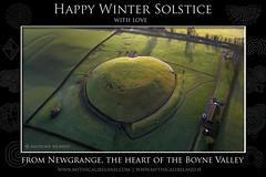 From Newgrange with love (mythicalireland) Tags: newgrange heart love shape monument mound earth aerial drone view dji phantom boyne valley
