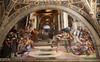 Raffaello (1483-1520) e aiuti - Cacciata di Eliodoro dal tempio (1511-12) Stanza di Eliodoro - Stanze di Raffaello - Musei Vaticani (raffaele pagani) Tags: stanzediraffaello raphaelrooms stanzadellasegnatura stanzadieliodoro stanzadellincendiodiborgo saladicostantino roomofthesignatura roomofheliodorus roomofthefireofborgo roomofconstantine raffaellosanzio raphael raphaelworkshop giulioromano gianfrancescopenni raffaellinodelcolle papagiulioii papaleonex museivaticani vaticanmuseums cittàdelvaticano vaticancity vatican museo museum affreschi frescoes capolavori masterpieces dipinti paintings rinascimentoitaliano italianrenaissance canon