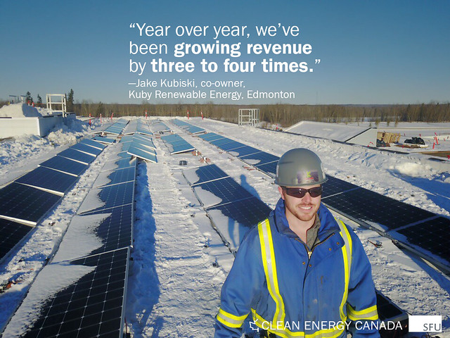 Jake Kubiski — Kuby Renewable Energy, Edmonton — Today's Energy Jobs