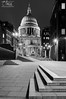 St Paul's Cathedral (Craig Hollis) Tags: st pauls cathedral london ludgate hill night black white bw bnw city craig hollis