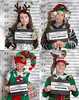 Merry Christmas! Stay out of trouble in 2018! (YetAnotherLisa) Tags: mugshot lineup arrest police humor christmas holiday funny uglysweater
