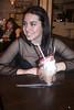 Guinda. (elojeador) Tags: chica mujer guapa alejandra ale jandri coctelería lilas jarra cuchara pajita helado mesa sonrisa quealostontosespabila elojeador