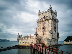 Belem Tower (felipe_gabaldon) Tags: huawei p10 belem lisbon portugal tower cityscape city river tagus limestone 16th xvi century