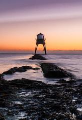 Dovercourt Dawn (1 of 4) (selvagedavid38) Tags: harwich dovercourt lighthouse waves tide rocks seaweed ocean dawn tower north canon 70d coast beach essex sunrise