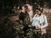 Expecting (Wojtek Piatek) Tags: pregnant pregnancy belly baby maternity family couple engagement sony portrait a7rii forest outdoor dublin ireland