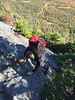 On the Cliff Trail, Mount Mansfield, Stowe, Vermont (Miche & Jon Rousell) Tags: usa fall autumn vermont stowe mountmansfield smugglersnotch statepark leaves red yellow orange trees hiking trail skiing skiresort