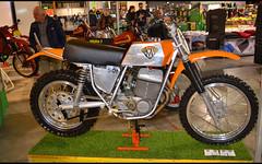 Maico 501 Cross (baffalie) Tags: moto ancienne vintage classic old bike motorbike retro expo italia sport motocycle racing motor show collection club italie milan fiera