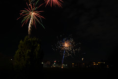 2018 (Sven Dost) Tags: welcome 2018 new year firework feuerwerk winter silvester long langzeitbelichtung red green orange blue dark night sven dost stativ nikon d750 tamron 1530mm sirui beautiful landscape landschaft
