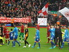 Players enter the pitch (lcfcian1) Tags: liverpool leicester city anfield lfc lcfc football sport england stadium liverpoolfc liverpoolvleicester stadia anfieldroad