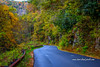 Swerving Mountain Road (tclaud2002) Tags: road mountainroad curve swerving mountain mountains fallcolors rural country landscape nature mothernature outdoorsnorthcarolina andrews usa