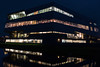 Office 1 (genf) Tags: office kantoor esprit hoofdkantoor headquarter lights lichten kleur avond nacht reflection weerspiegeling garage parkeergarage parking amstelveen nederland netherlands kruitmolen sony a99ii outdoor buiten