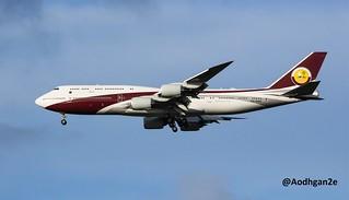Qatar - Amiri Flight | VQ-BSK | Boeing 747-8ZV BBJ