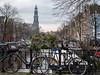 Prinsengracht (johan wieland) Tags: prinsengracht amsterdam westertoren prinsensluis