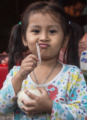 girl with coconut (Never.Stop.Searching.) Tags: chiangmai photography thailand people streetscenes market